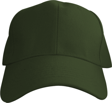 Army Green 6 Panel Cap